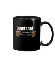 Juneteenth Mug front