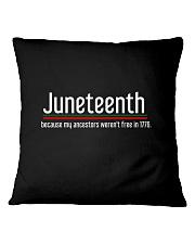 Juneteenth Square Pillowcase thumbnail