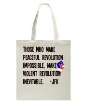 Peaceful Revolution Tote Bag thumbnail