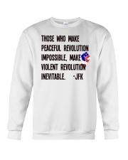 Peaceful Revolution Crewneck Sweatshirt thumbnail