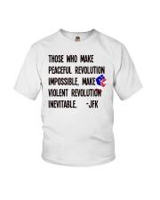 Peaceful Revolution Youth T-Shirt thumbnail