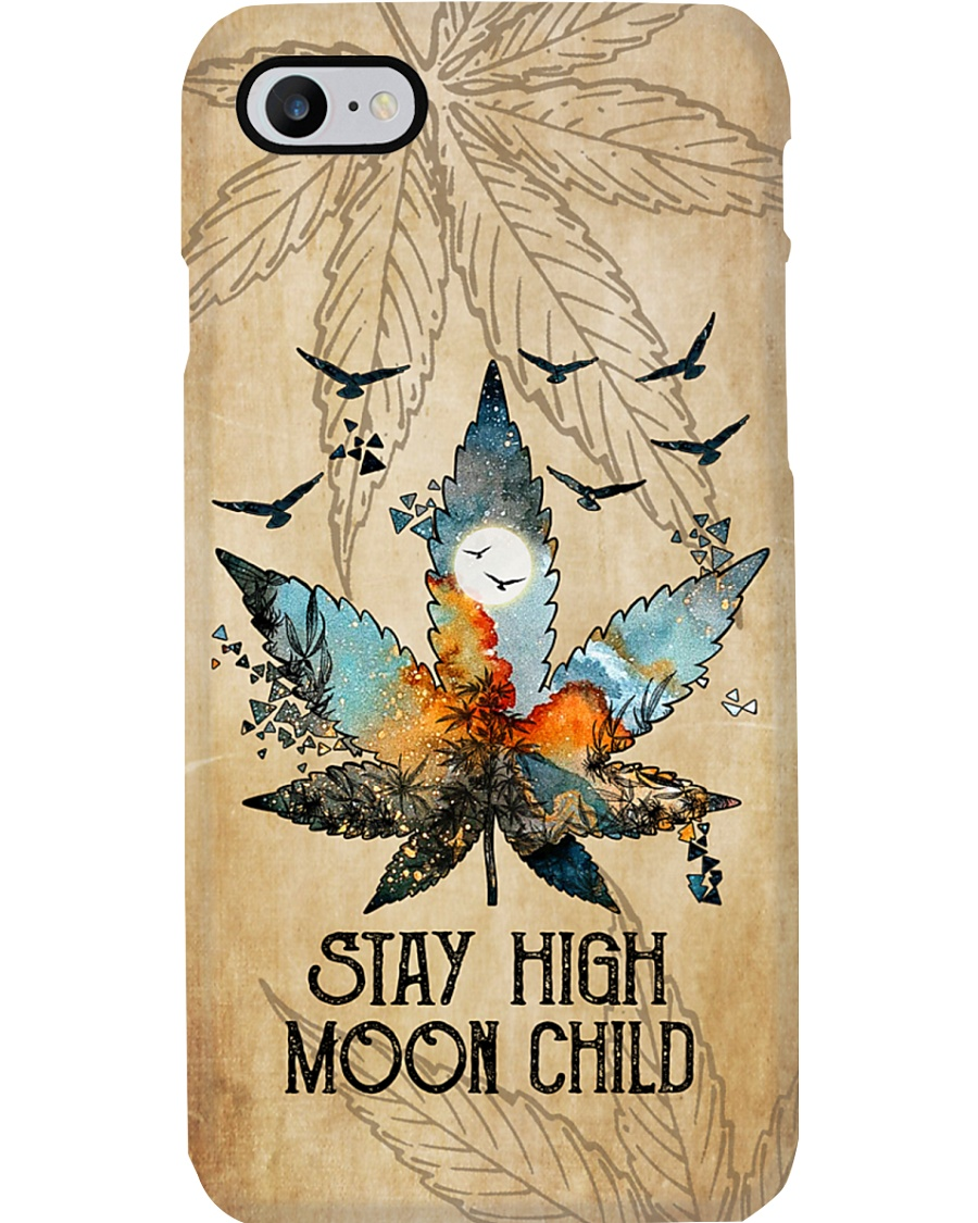 STAY HIGH MOON CHILD Phone Case