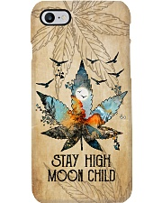 STAY HIGH MOON CHILD Phone Case i-phone-7-case