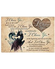 I CHOOSE YOU 17x11 Poster front