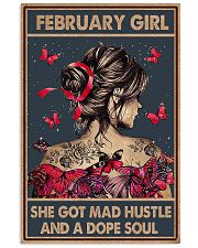 FEBRUARY GIRL 11x17 Poster front