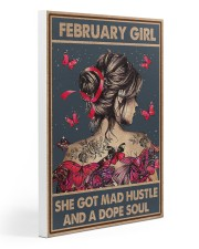 FEBRUARY GIRL 20x30 Gallery Wrapped Canvas Prints thumbnail