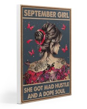 SEPTEMBER GIRL Gallery Wrapped Canvas Prints tile