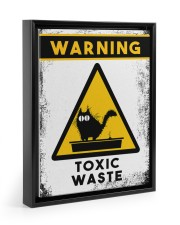 TOXIC WASTE 11x14 Black Floating Framed Canvas Prints thumbnail