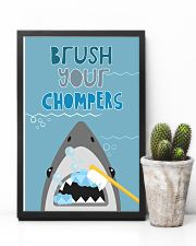 BRUSH YOUR CHOMPERS POSTER 11x17 Poster lifestyle-poster-8