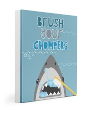 BRUSH YOUR CHOMPERS POSTER 11x14 Gallery Wrapped Canvas Prints thumbnail