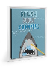 BRUSH YOUR CHOMPERS POSTER 11x14 White Floating Framed Canvas Prints thumbnail
