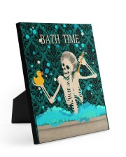 BATH TIME POSTER 8x10 Easel-Back Gallery Wrapped Canvas thumbnail