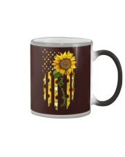 SUNFLOWER GIRL PC Color Changing Mug tile