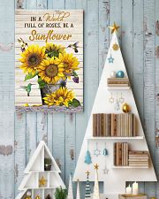 IN A WORLD FULL OF ROSES BE A SUNFLOWER POSTER 11x17 Poster lifestyle-holiday-poster-2