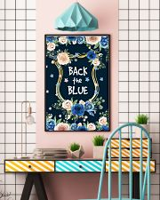 BACK THE BLUE POSTER 11x17 Poster lifestyle-poster-6