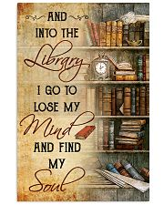 INTO THE LIBRARY I GO - POSTER 11x17 Poster front