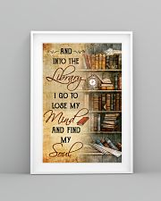 INTO THE LIBRARY I GO - POSTER 11x17 Poster lifestyle-poster-5