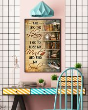 INTO THE LIBRARY I GO - POSTER 11x17 Poster lifestyle-poster-6