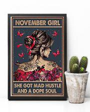 NOVEMBER GIRL 11x17 Poster lifestyle-poster-8