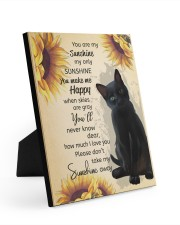 You Are My Sunshine My Only Sunshine Poster 8x10 Easel-Back Gallery Wrapped Canvas thumbnail