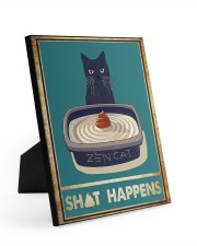 SH HAPPENS 8x10 Easel-Back Gallery Wrapped Canvas thumbnail