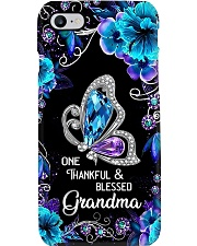 One Thankful and Blessed Grandma PC Phone Case i-phone-8-case