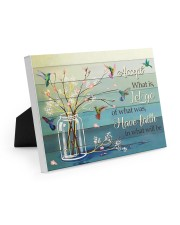 ACCEPT WHAT IS 10x8 Easel-Back Gallery Wrapped Canvas thumbnail