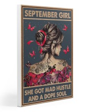 SEPTEMBER GIRL 20x30 Gallery Wrapped Canvas Prints thumbnail