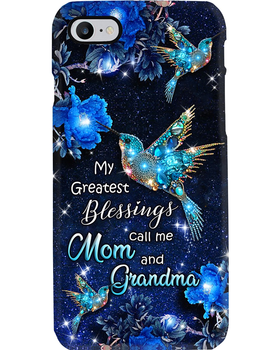 MY GREATEST BLESSINGS CALL ME MOM AND GRANDMA PC Phone Case
