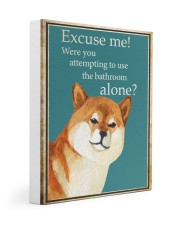 EXCUSE ME Gallery Wrapped Canvas Prints tile