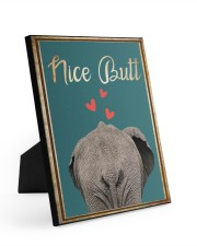 NICE BUTT Easel-Back Gallery Wrapped Canvas tile