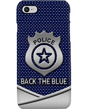 BACK THE BLUE PC Phone Case i-phone-8-case