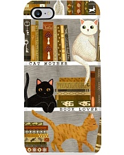 CAT MOTHER BOOK LOVER PC Phone Case i-phone-8-case