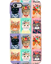 Cats PC Phone Case i-phone-7-case