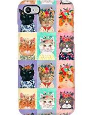 Cats PC Phone Case i-phone-8-case