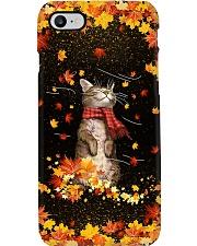 Autumn Cat PC Phone Case i-phone-8-case