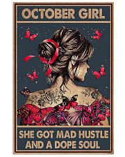 OCTOBER GIRL 11x17 Poster front
