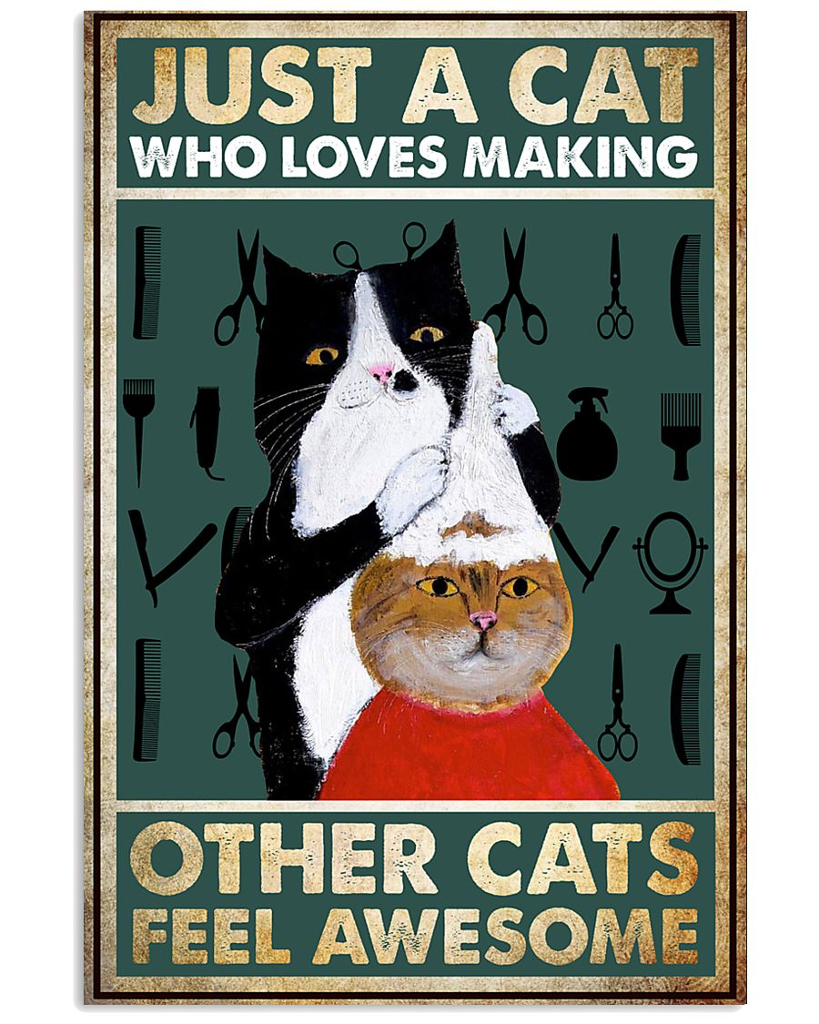 MAKING OTHER CATS FEEL AWESOME POSTER 11x17 Poster