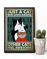 MAKING OTHER CATS FEEL AWESOME POSTER 11x17 Poster lifestyle-poster-8
