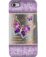 BEING A GRANDMA MAKES MY LIFFE COMPLETE PC Phone Case i-phone-8-case