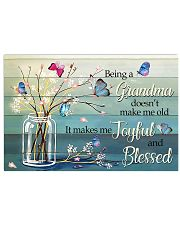 BE A GRANDMA DOESN'T MAKE ME OLD POSTER 17x11 Poster front