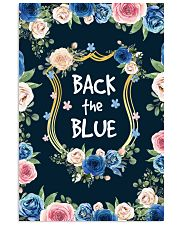 BACK THE BLUE POSTER 11x17 Poster front