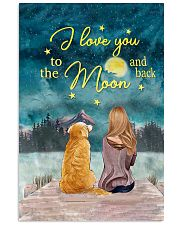 I Love You To The Moon and Back Poster  11x17 Poster front