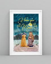 I Love You To The Moon and Back Poster  11x17 Poster lifestyle-poster-5