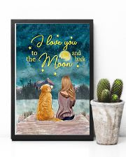 I Love You To The Moon and Back Poster  11x17 Poster lifestyle-poster-8