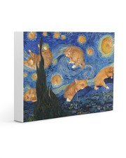 CAT STARRY NIGHT POSTER Gallery Wrapped Canvas Prints tile