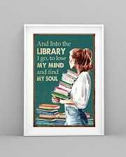 AND INTO THE LIBRARY I GO 11x17 Poster lifestyle-poster-5