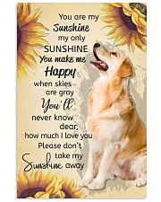YOU ARE MY SUNSHINE MY ONLY SUNSHINE - GOLDEN 11x17 Poster front