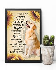 YOU ARE MY SUNSHINE MY ONLY SUNSHINE - GOLDEN 11x17 Poster lifestyle-poster-8