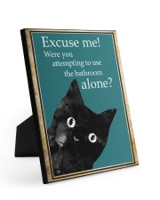 EXCUSE ME 8x10 Easel-Back Gallery Wrapped Canvas thumbnail